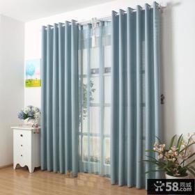 地中海风格家装阳台窗帘效果图