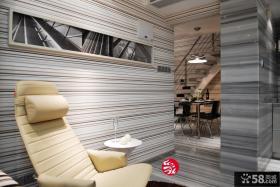 小户型客厅墙面壁纸背景墙装修效果图