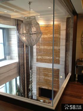 别墅样板间室内吊灯造型设计