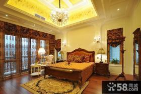 豪华欧式卧室装修效果图大全