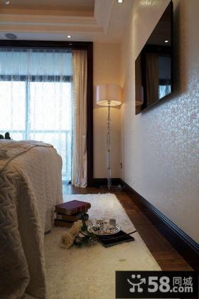 欧式风格豪华卧室电视背景墙效果图