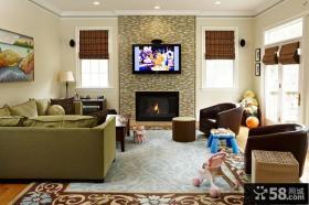 电视机背景墙设计