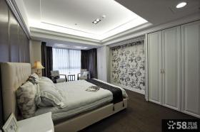 欧式古典风格主卧室吊顶