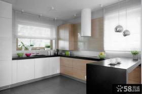 复式楼小厨房装修效果图大全