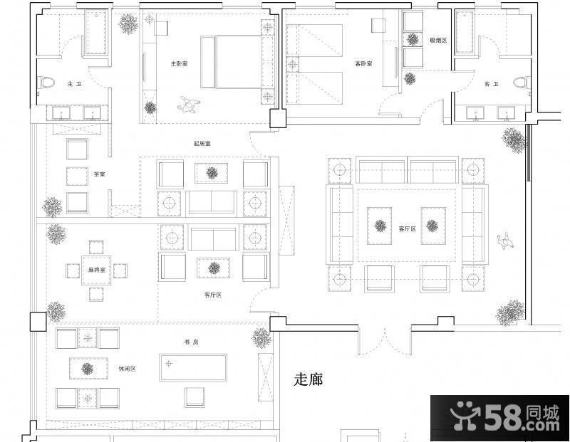 12米长平面设计平面图_第2页_房屋设计图绿的字体设计说明图片
