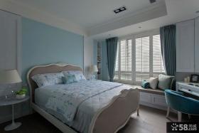 欧式风格装修卧室图2014
