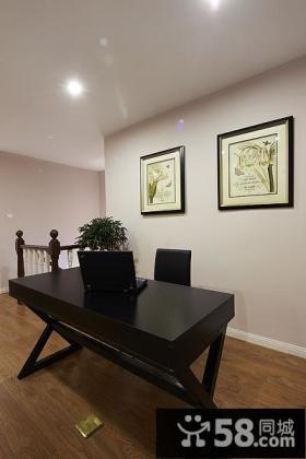 现代家居办公室书房装修展示