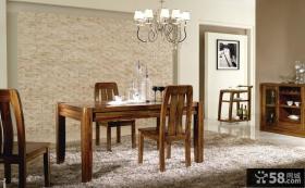 餐厅实木家具设计