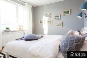 主卧室照片墙效果图大全