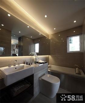 现代风格优雅时尚卫生间设计