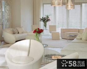 80后小户型客厅装修效果图 浪漫之家