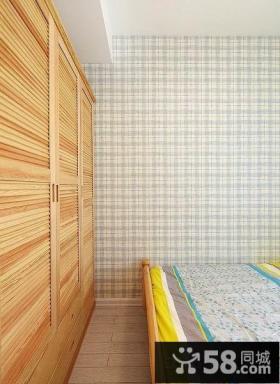 家居卧室墙纸效果图片大全