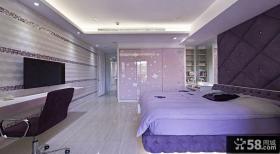 欧式风格甜美创意卧室装修图