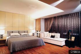 现代简装主卧室装修效果图片