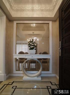 现代风格家居玄关装修设计