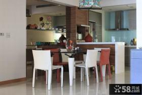 现代家庭别墅餐厅装修图片欣赏