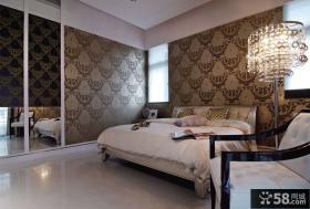 时尚现代风格三居卧室装修图片