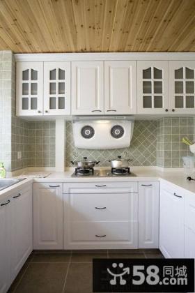 厨房U型志邦橱柜图片大全