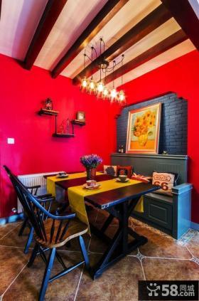 地中海风格别墅室内装修色彩效果图片