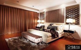美式设计10平米卧室图片大全