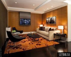 2013现代客厅电视背景墙效果图片