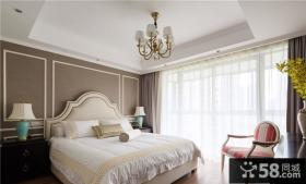 欧式家居高档精装卧室图片