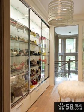 高档玻璃鞋柜
