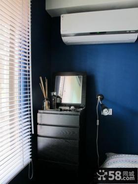 小户型卧室床头柜效果图