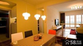 小户型家庭餐厅装修设计效果图