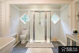 卫生间白色瓷砖高清贴图