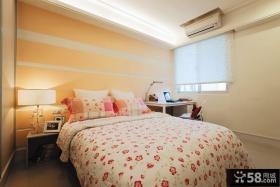 韩式田园风风格装修卧室图片