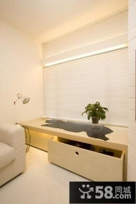 日式风格卧室飘窗设计