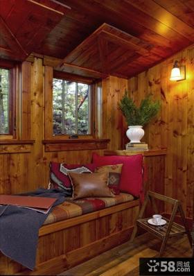 飘窗装修效果图 2013客厅飘窗装修设计图片