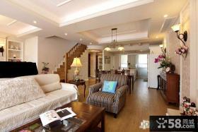欧式风格复式楼室内装修效果图