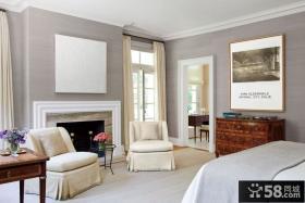 经典的美式田园风格卧室装修效果图大全2012图片