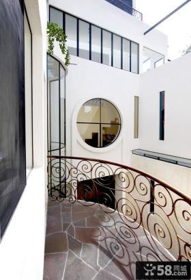 现代地中海风格景观阳台