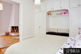欧式风格小户型卧室衣柜效果图