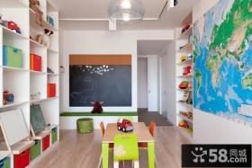 复式儿童房装修设计图