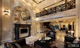 摩登奢华欧式复式家居设计
