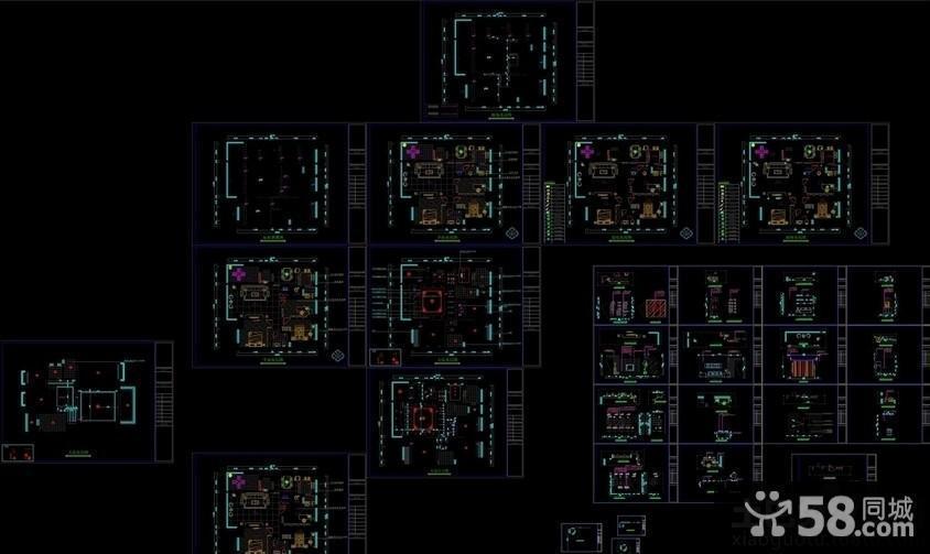 中式四合院平面图