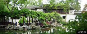 中式园林式别墅设计图片