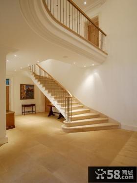 旋转别墅家庭楼梯装修