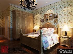 古典美的欧式风格卧室装修效果图大全2012图片