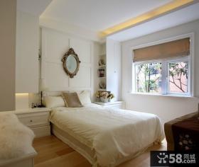 简约欧式10平米卧室装修效果图