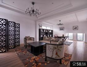 后现代风格设计别墅客厅装修图片