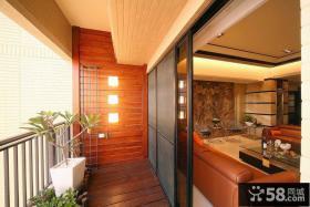 现代小阳台装修案例