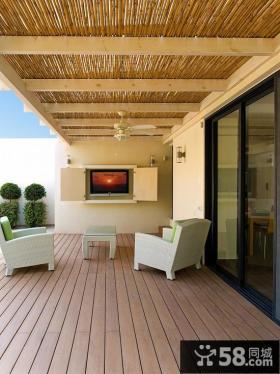 别墅大阳台装修设计