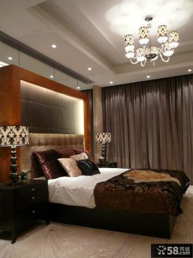 简约两室两厅主卧室吊顶效果图图片