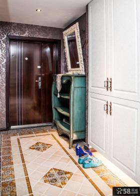欧式进门玄关装饰效果图片