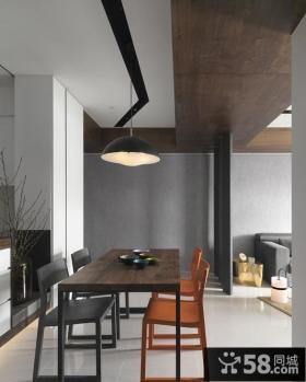 现代小户型室内餐厅设计图片